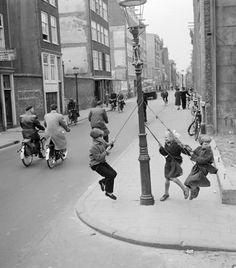 Netherlands. Rapenburgerstraat, Amsterdam, 1956 // Dolf Kruger