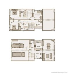 Not super tiny, but good use of space for a family.    Floorplan sd221 « Stillwater Dwellings