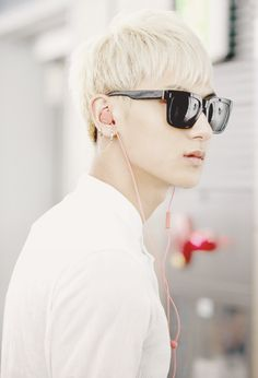 """Exo - Tao """"He looks so good with shades <3"""""""