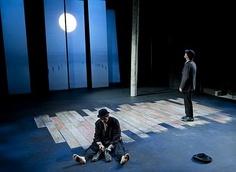 "Patrick Stewart & Ian McKellen in ""Waiting For Godot"""
