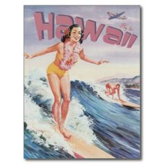Vintage Hawaii, USA - Post Card This site is will advise you where to buyHow to          	Vintage Hawaii, USA - Post Card Online Secure Check out Quick and Easy...