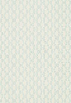 Wallcovering / Wallpaper | Ribbon Wave in Mineral | Schumacher