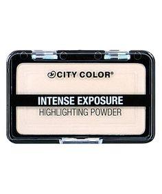 City Color Cosmetics Intense Exposure Highlighting Powder by City Color Cosmetics #zulily #zulilyfinds
