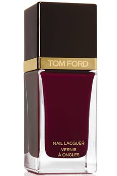 Girl On Fire: Fall's 10 Prettiest Red Polishes. Tom Ford Nail Lacquer in Bordeaux Lust, $32, neimanmarcus.com.