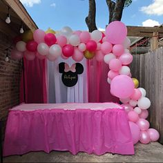 Glitter Custom Name Minnie and Mickey Mouse Head Cutouts Party Decor Photo Prop Minnie Mouse Theme Party, Minnie Mouse Birthday Decorations, Minnie Mouse Balloons, Minnie Mouse First Birthday, Pink Party Decorations, Minnie Mouse Baby Shower, Minnie Mouse Cake, Mickey Birthday, Mickey Cakes