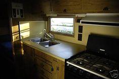 Silver Streak Camper Interior | this photo script courtesy of www dyn web com