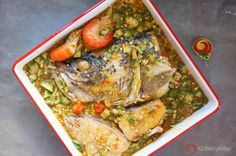 Make Okro Soup the Oron Way with plenty seafood. It's called Efere Etighi!