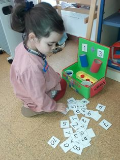 Preschool Color Activities, Numeracy Activities, Preschool Classroom, Kindergarten Activities, Learning Numbers, Learning Centers, Childhood Education, Math Lessons, Projects For Kids