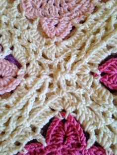 @ Quietly Stitching: Willow squares blanket with link to tutorial for continuous flat braid join - very pretty!