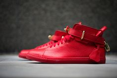 BUSCEMI 100mm Shoe – Red