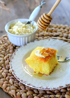 Tippins Cornbread Cake Recipe
