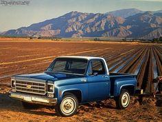 1978 Chevy Cheyenne stepside.