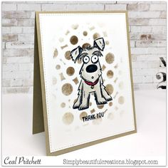 FF16CAKath ~ Dog crazy by simplybeautiful - Cards and Paper Crafts at Splitcoaststampers