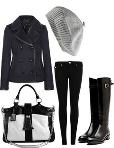 """""""Little Bit of Leather"""" by caligali813 ❤ liked on Polyvore"""