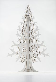 This is alternative and stylish way to have a christmas tree! You can easily take the tree to 6 pieces and store it flat under the bed or whenever without using much space. Put it back together in next Christmas and have nice and modern holiday feeling at home! You can add ornaments and / or electric lighting to make it more beautiful and glowing in the dark. Height 1.32 m / 4.3, width 80 cm / 2.6 ******* Approximate delivery time with regular post during pre-christmas time (from…