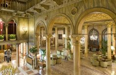 """Hotel Danieli in Venice, Italy, where Johnny Depp and Angelina Jolie have filmed scenes for """"The Tourist."""" The hotel, known for its Gothic a..."""