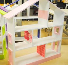 Dollhouse Bookshelves | Do It Yourself Home Projects from Ana White