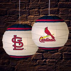 st louis cardinals products | St Louis Cardinals Rice Paper Hanging Lamp