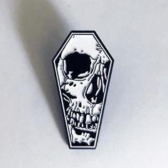 Strike Gently Co - Coffin Skull Pin