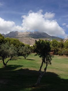 Don Cayo Golf Course. Normally pretty & challenging course, but lack of has impacted on the greens & some fairways.