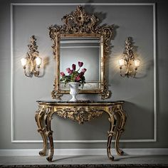 With our selection find the mirror that will reflect your inner interior designer. Take a look at the board and let you inspiring! See more clicking on the image. Iron Furniture, Classic Furniture, Luxury Furniture, Furniture Decor, Furniture Design, Luxury Bedroom Design, Luxury Interior, Dressing Table Design, Flur Design