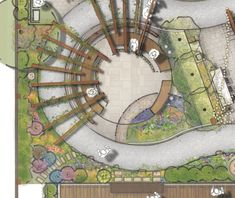 Dementia & Memory Garden concept design for Alzheimers NSW at Port Macquarie.