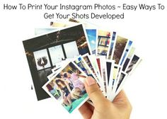 How To Get Your Instagram Pictures Developed