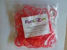 Red FunLoom Rubber Bands
