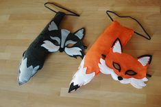 Fox Mask and Tail Set Halloween costume by littlegiantleap on Etsy, $48.00