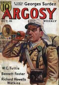 Legion Pulp: The Junk Man Calls | Mon Legionnaire