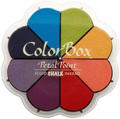 Clearsnap Colorbox Fluid Chalk Petal Point Option Inkpad, Primary Pastels, 8 Colors Per Pad: Amazon.ca: Home & Kitchen