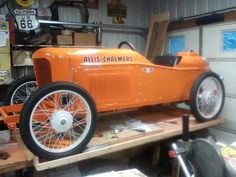 CycleKart built around some old Allis Chalmers tractor parts nearing completion