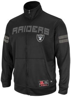 NFL Mens Oakland Raiders Tailgate Time II Black/Ath Gray Marled Long Sleeve Mock Neck Synthetic by NFL, http://www.amazon.com/dp/B008549UB8/ref=cm_sw_r_pi_dp_OCL-rb0ADNV4T