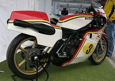 Suzuki RG 500 Gamma The 1987  Walter Wolf Special - a very limited, very distinctive edition of the 500cc Suzuki machine that has won seven consecutive championships in world-class Grand Prix racing