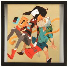 Sachin Teng - Artwork - Daddy Why Did You Eat My Fries - Nucleus   Art Gallery and Store