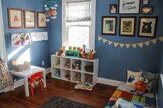 Une chambre d'inspiration Montessori