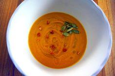 Zuppa di Zucca Speziata nella Slow Cooker