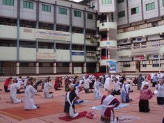 World Yoga Day At Amroli College 21-06-2016