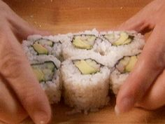 Food Network invites you to try this California Roll recipe from Alton Brown.