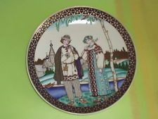 VILLEROY & BOCH HEINRICH SERIES RUSSIAN FAIRY TALES COLLECTION PORCELAIN PLATE 3