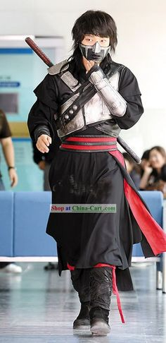 Ancient Korean Fighter Iljimae Armor Costumes Set.  Website is a great source for Chinese and Korean costumes.