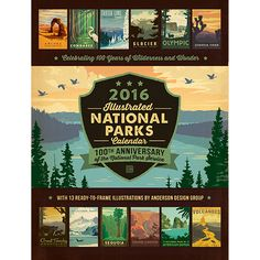 Anderson Design Group: Blog: After 5 years, we have completed our National Parks poster series!