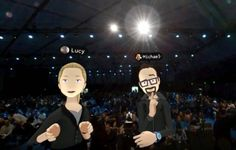 Oculus demos augmented social virtual reality with facial expressions | TechCrunch