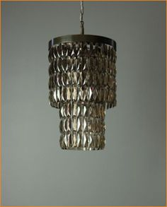 Tigermoth Smoked Crystal Lantern Nickel
