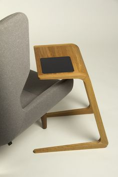The Riley Laptop Table by Naughtone