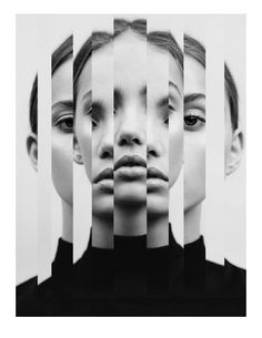Surreal portraits by Jesse Draxler collage art Creative Portrait Photography, Conceptual Photography, White Photography, Photography Poses, Artistic Portrait Photography, Experimental Photography, Surrealism Photography, Exposure Photography, Photography Projects