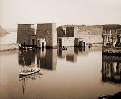 The temple of Philae, circa 1930's