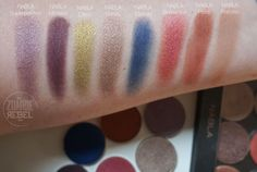 Mordisqueando a NABLA Genesis Collection Nabla Cosmetics, Eye Products, Petra, Swatch, Collection, Eyeshadows, Beautiful Things