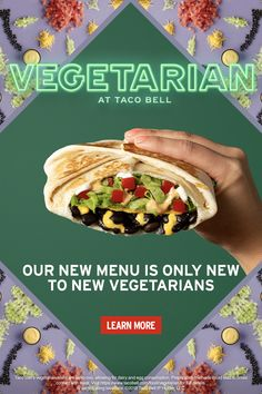 With So Many Delicious Vegetarian Options At Taco Bell®, You May Ask Yourself, Am I A Vegetarian?