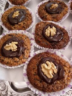 Greek Desserts, Pureed Food Recipes, Tea Time, Biscuits, Muffins, Food And Drink, Appetizers, Ice Cream, Sweets